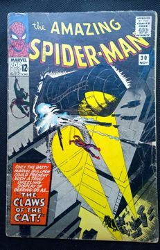 The Amazing Spider-man #30 - The Claws Of The Cat - Marvel Comics - (1965)