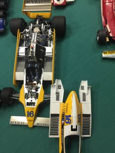 Exoto - Scale 1/18 - Renault turbo F1 #16 GP of France 1980 - Rene Arnoux