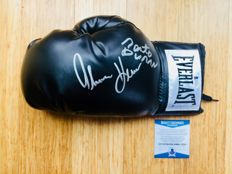 Roberto Duran & Thomas Hearns /  Original Signed Everlast Boxing Glove - with Certificate of Authenticity Beckett
