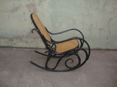 Large Rocking Chair after Thonet - 1960 - Portugal
