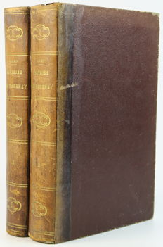 Jean Cousin - Histoire de Tournay ou Premier et deuxième livres des chroniques, annales ou démonstrations du Christianisme de l'Evesché de Tournay, nouvelle édition - 4 volumes in 2 bindings - 1868
