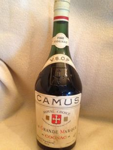 "Cognac Camus VSOP, ""Royal Choice"" - Bottled 1960s"