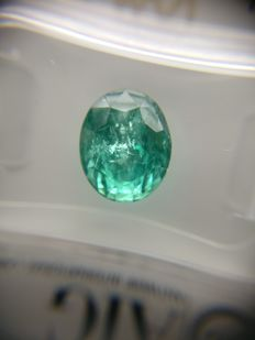 Emerald Green 3.25 ct   No Reserve Price