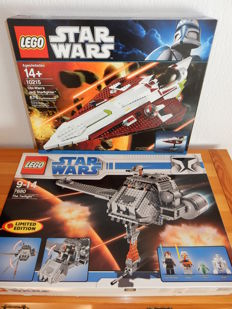 Starwars - 10215 + 7680 - Obi-Wan's Jedi Starfighter U.C.S. + The Twilight (Limited Edition)