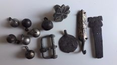 Lot of Medieval Period Metal Artefacts, 9 - 12 century AD
