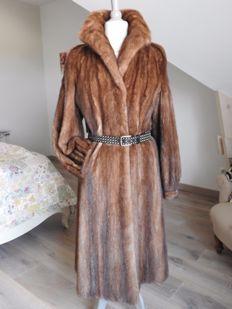Mink coat (Saga Select of Scandinavia) in excellent condition