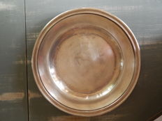 Christofle silver plated metal platter, early 20th century