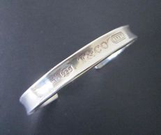 Tiffany & Co. Bracelet 22.8g Tiffancy & Co New York 2005 925 sterling silver - inner dimensions approx.: 6.5 x 4.5 cm