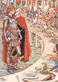 Walter Crane; Henry Gilbert - King Arthur's Knights: The Tales Re-Told for Boys and Girls - 1911