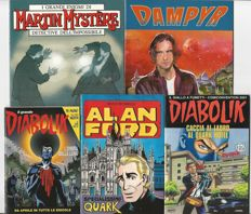 Special issues - 5x albums Dampyr, Diabolik, Alan Ford, Martin Mystère (1994 - 2010)