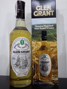 Glen Grant 5 years old - distilled 1969