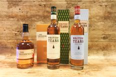 Irishman Small Batch - Writers Tears Copper Pot & Red Head - 3 Bottles in original boxes