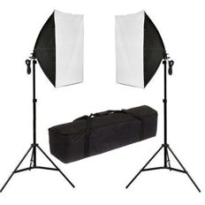 Photography Studio 2x135W Light Stand set