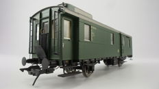 Gauge 0 - Lenz - 41130 - 'Blunderbuss' baggage carriage of the DB, with interior lighting
