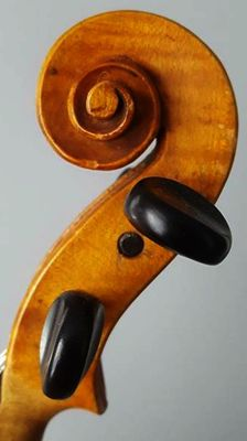 Very Interesting Fine 19th century French Violin By Francois Breton