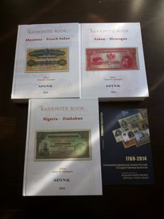 Miscellaneous - 'The Banknote Book World Banknote New Catalogue' Volume 1 + 2 + 3 Spink Linzmayer