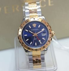 Versace GMT 2. Time zone - men's watch unworn