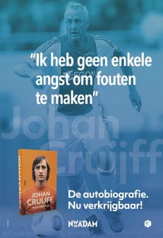 Johan Cruijff poster with quote – new condition