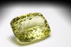 Lemon quartz –  13.93 ct
