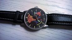 Fortis - Fortis Nato Tiger Limited Edition – men's watch – - 595.10.46.1 - Herre - 2004