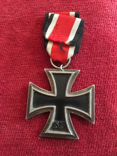 Iron Cross 2nd Class on a Ribbon and Proof of Ancestry