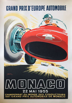 Ramel - Grand Prix Automobile de Monaco (1955) - 1985