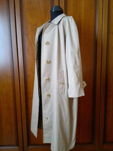 Burberry trench coat, vintage Burberry luxury overcoat