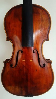 Very interesting old antique Viola