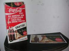 Coca Cola store display complete with the original posters ca. 1980
