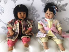 2 Character dolls - Götz - Germany