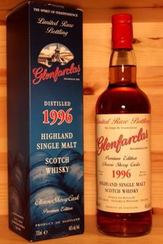 Glenfarclas 1996/2015 Premium Edition (Oloroso Sherry casks) incl. original box, 700ml, 46%vol.