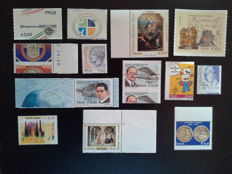 Italy, Republic - Lot of 13 varieties