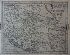 Central Europe, Balkans; Mercator/Hondius - 3 copper engravings - 1612