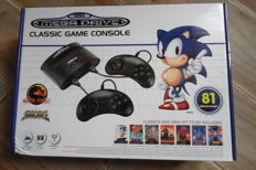 Sega Mega Drive Classic game console built in 81 games new sealed