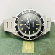 Rolex - Submariner 5513 , año 1975/78, Box & Documens Orig - 5513 - Heren - 1975 / 78