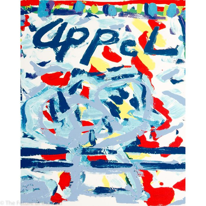 postzegel karel appel