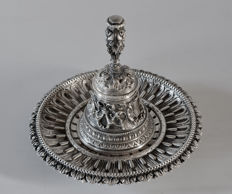Bell by unidentified silversmith, Italy, 20th century