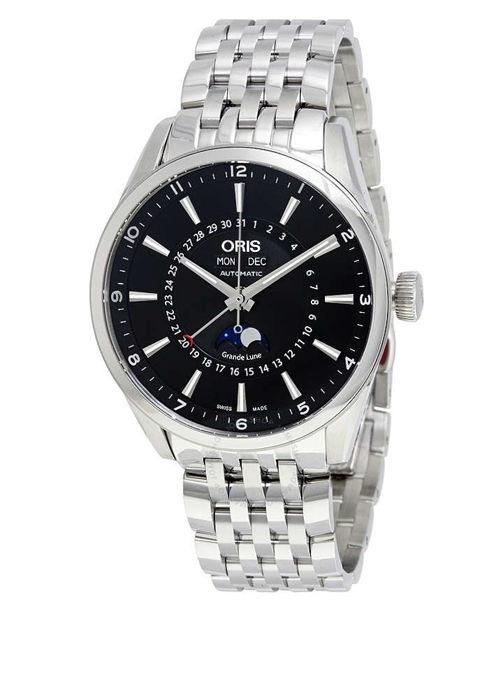 Oris - Artix Complication Black Dial Moonphase - 915 7643 4034MB - Unisex - 2011-present
