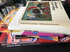 Asger Jorn; Lot with 6 publications - 1974 / 2014