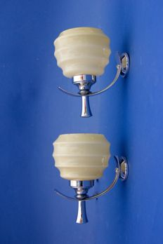 Be-Bro (Florence) – pair of wall lights.