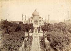 Ascribable to Felice Beato (1832-1909) - The Agra Taj Mahal in India