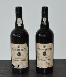 1994 Vintage Port Warre's - 2 bottles