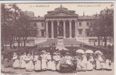 Very good lot of 140 old postcards from Marseille
