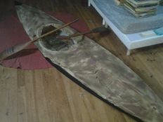 "very rare single seat kayak ""special boat service"" 1943"