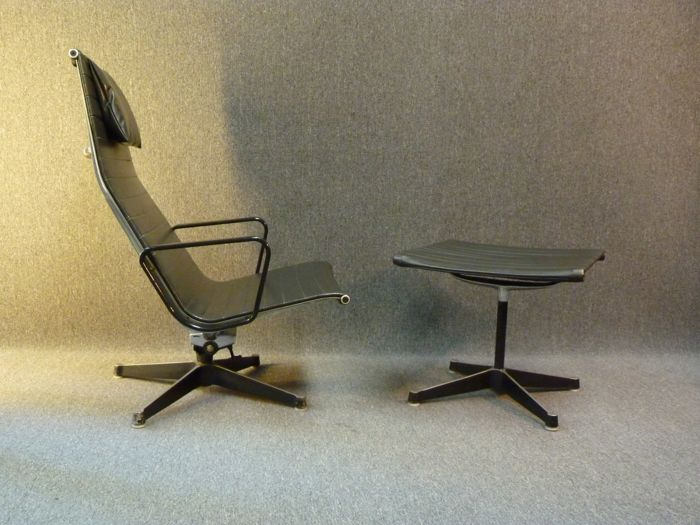 Herman Miller Stoel : Charles & ray eames for herman miller eames aluminum group lounge
