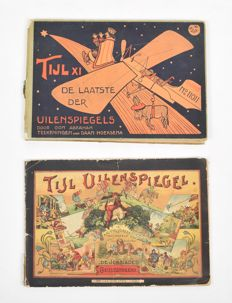 Till Eulenspiegel; Lot with 2 illustrated publications - c. 1900