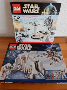 Starwars - 7749 + 8089 - Echo Base + Hoth Wampa Cave