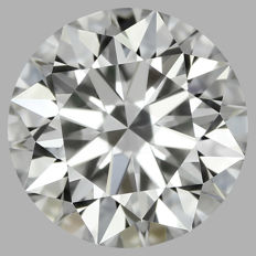 Round Brilliant Diamond  0.46ct   E VVS2   IGI  -original image #2240
