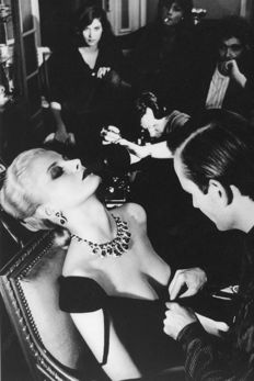 Helmut Newton (1920-2004) - Woman being filmed, Vogue, 1980