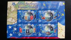 Europa CEPT 2005/2006 - 50th anniversary of the first Europa stamps - Collection of blocks and sets